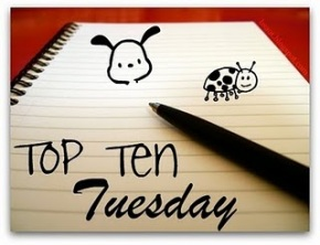 Top Ten Tuesday – Favorite Covers