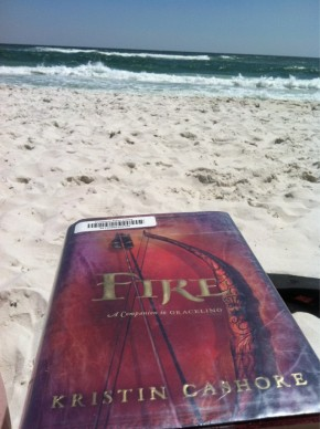 Sun, sand, and a book in my hand!