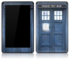 dr. who kindle cover