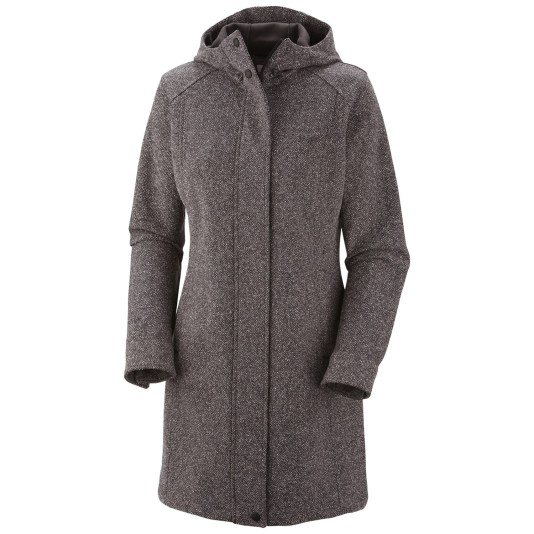 Long coat with a hood