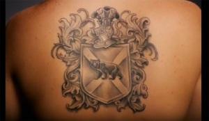 crest tattoo