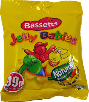 Would you like a jelly baby?