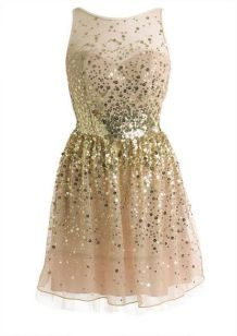 Pull out your best gold dress