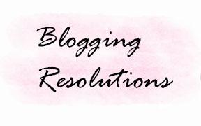 blog resolutions