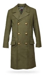 Old green coat