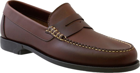Brown sensible shoes